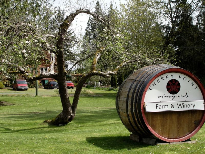 Cherry Point Vineyard - Cobble Hill, BC