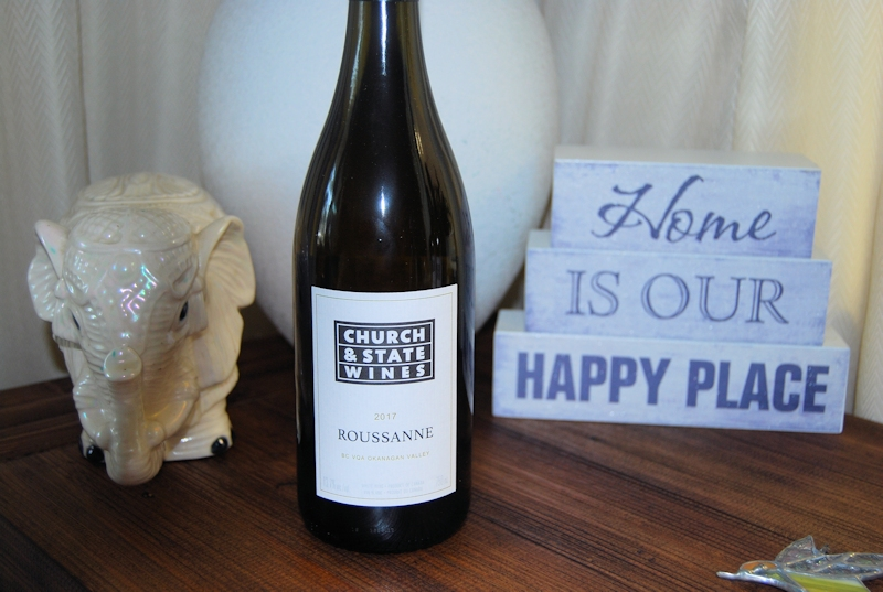 Church and State wines 2017 Roussanne