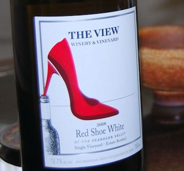 Red Shoe white