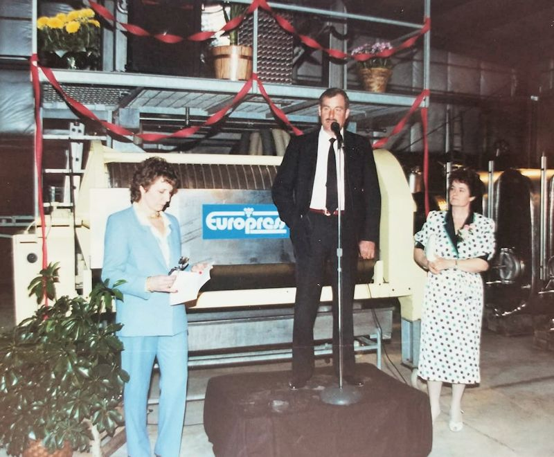 Grand Opening of Konzelmann Estate Winery (April 9th 1988)