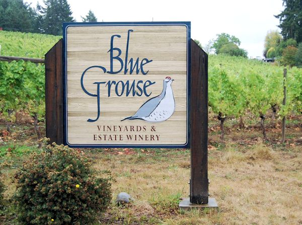 Blue Grouse Vineyards & Winery- Duncan, British Columbia