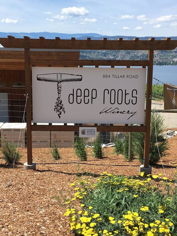 Deep Root Winery - Naramata, British Columbia