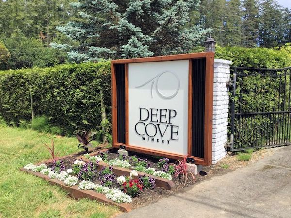 Deep Cove Winery - North Saanich, British Columbia