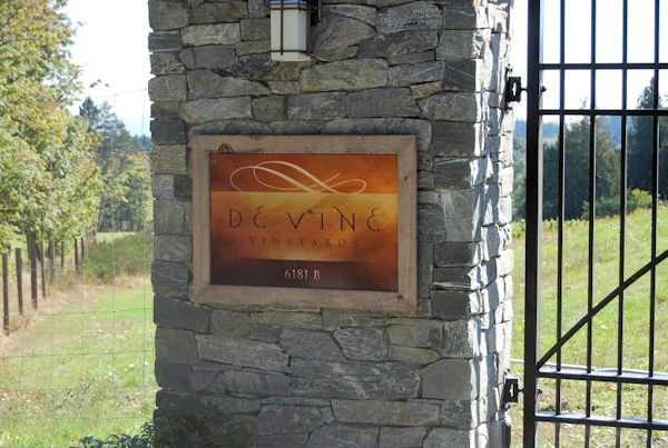 De Vine Vineyards -Sannichton, British Columbia