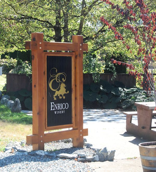 Enrico Winery - Mills Bay Vancouver Island